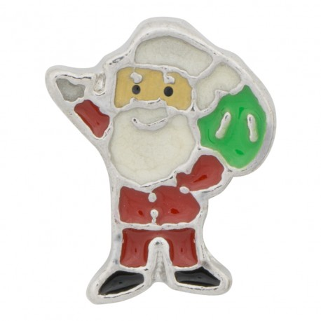 Santa Claus Floating Charm
