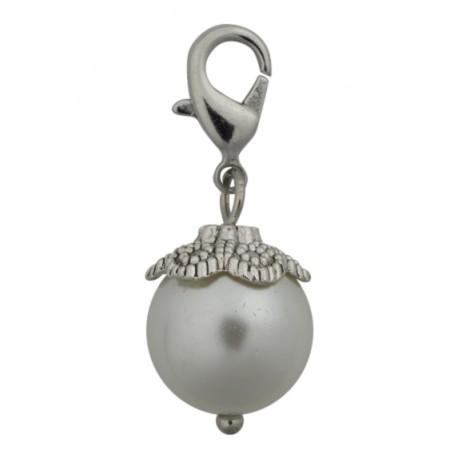 Pearl Dangle - White
