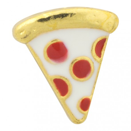 Pizza Slice Floating Charm