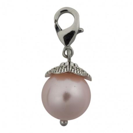 Pearl Dangle - Light Pink