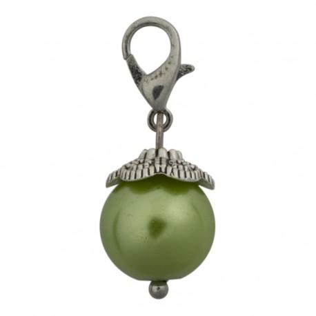 Pearl Dangle - Green