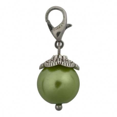 Pearl Dangle - Green
