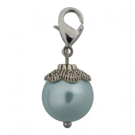 Pearl Dangle - Light Blue