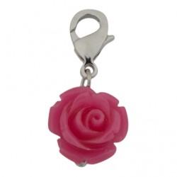Rose Dangle - Pink
