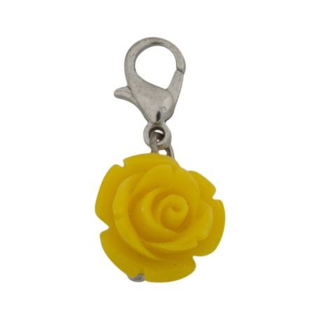Rose Dangle - Yellow
