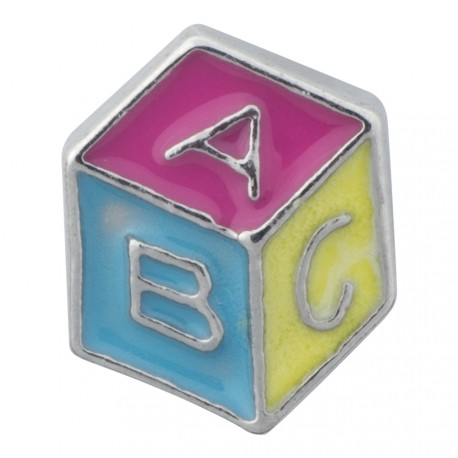 Building Block Floating Charm