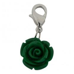 Rose Dangle - Green