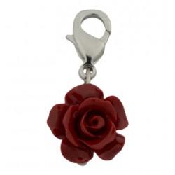 Rose Dangle - Red