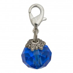 Crystal Dangle - Blue