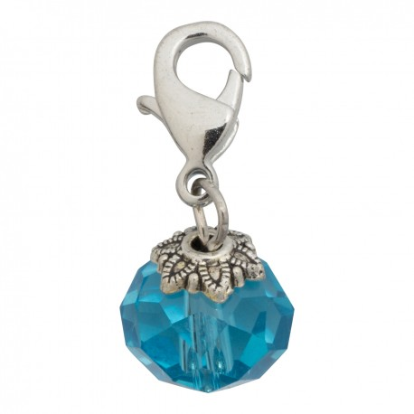 Crystal Dangle - Blue