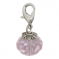 Crystal Dangle - Pink