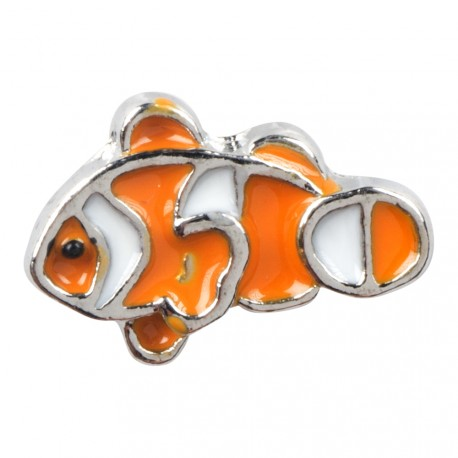Clown Fish Floating Charm