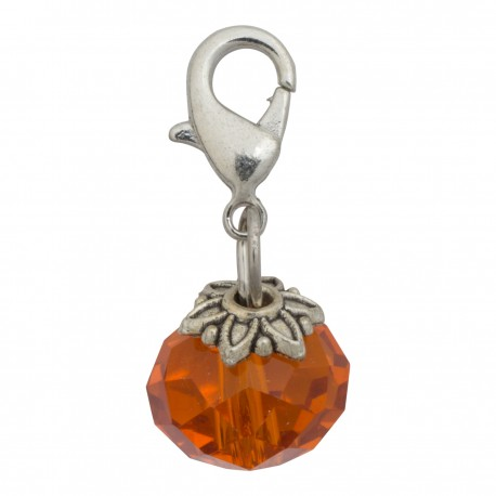Crystal Dangle - Orange