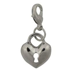 Heart Lock Dangle