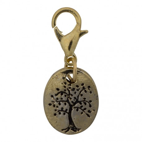 Tree of Life Dangle - Gold
