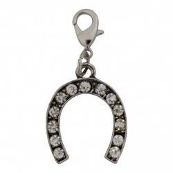 Horseshoe Dangle - Crystals