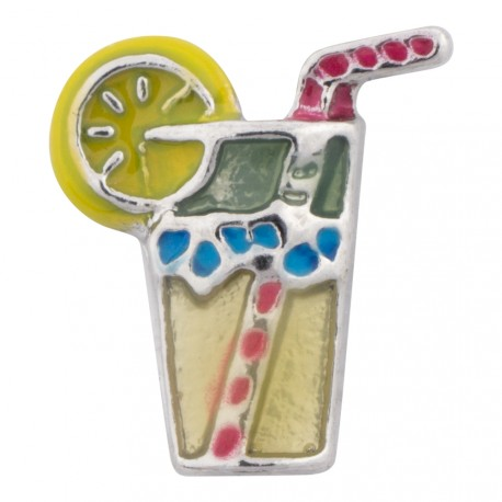 Lemonade Drink Floating Charm