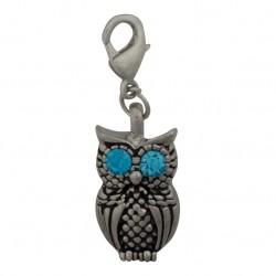 Owl Dangle - Crystal Eyes