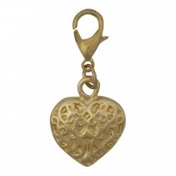 Heart Dangle - Gold