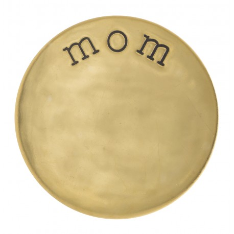 Mom - Gold - Large