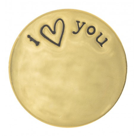 I Love You - Gold - Large