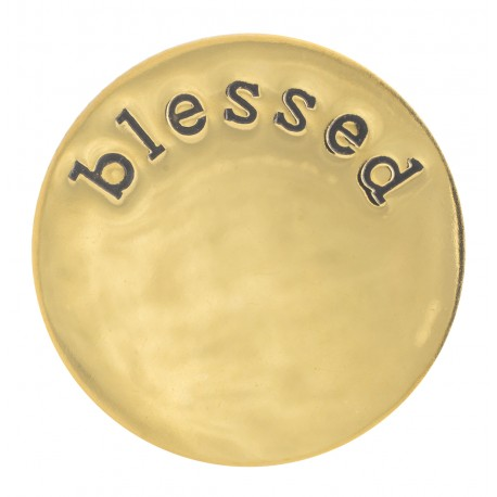 Blessed - Gold - Large
