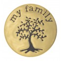 My Family - Gold - Large