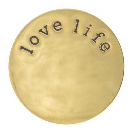 Love Life - Gold - Large