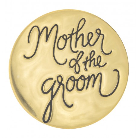 Mother of the Groom - Gold - Large