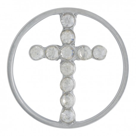 Cross w/ Crystals - Large