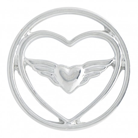 Heart w/ Wings - Large