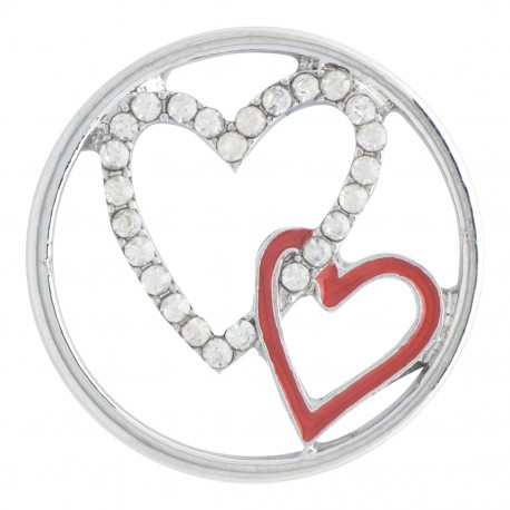 Hearts w/ Crystals - Large