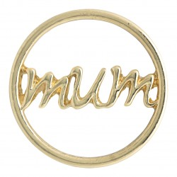 Mum - Gold - Large