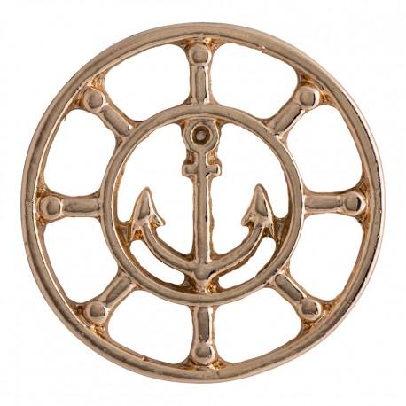 Anchor - Rose Gold - Large
