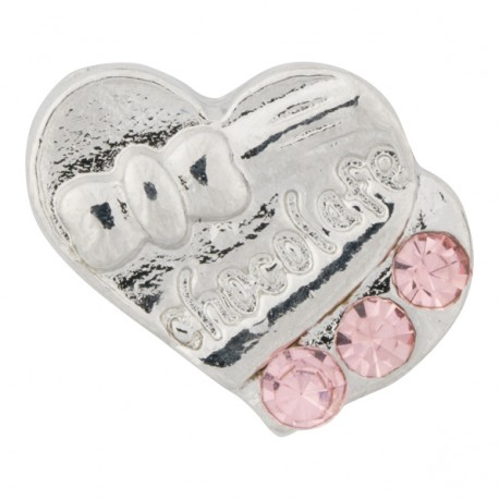 Heart Chocolates w/ Crystals