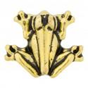 Frog - Gold Floating Charm