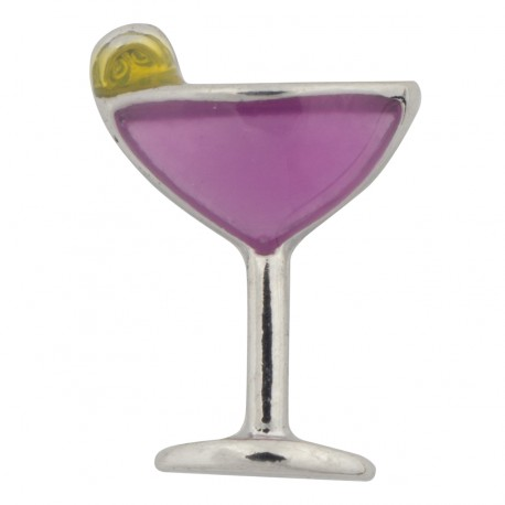 Cocktail Glass - Martini Floating Charm