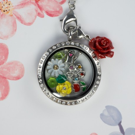 Spring Floating Locket Kit