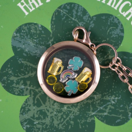St Patrick's Day Floating Locket Kit