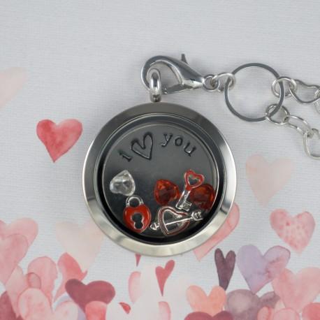 Valentines Floating Locket Kit