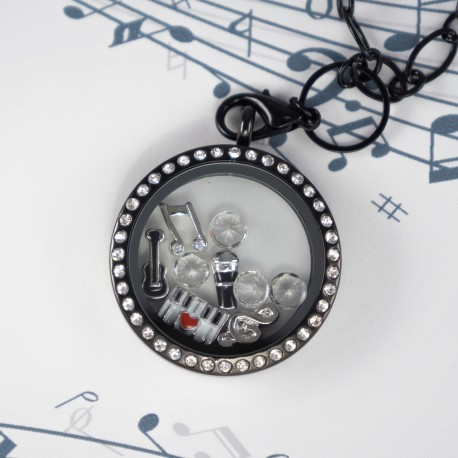 Music Floating Locket Kit