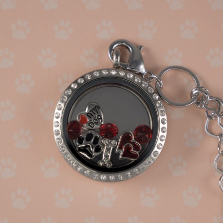 Dog Love Floating Locket Kit