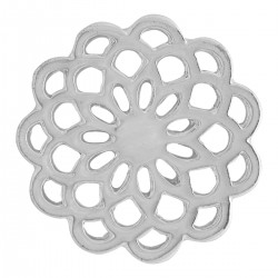 Flower - Silver - Large
