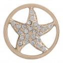 Starfish w/ Crystals - Rose Gold - Large