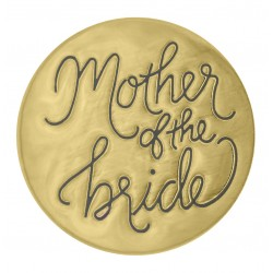 Mother of the Bride - Gold - Large