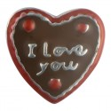 Box of Chocolates - I Love You Floating Charm