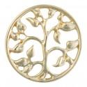 Floral - Gold - Large