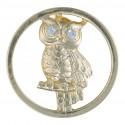 Owl - Gold - Large